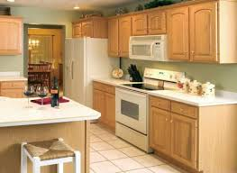 kitchen color ideas with light oak cabinets. Pale Green Kitchen Wall With Light Oak Cabinets Color Ideas T