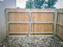 double fence gate. Wonderful Fence Double Gate Pleasing Inspirational Door Designs