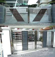 stainless steel gate design modern modern stainless steel entrance gate design motor operate steel slide gatesteel