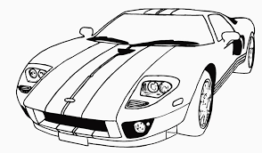 Small Picture Car coloring pages ford gt ColoringStar