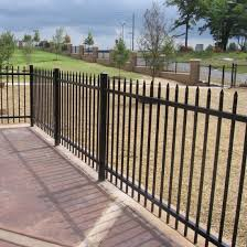 decorative metal fence panels. Simple Decorative Black PowderCoated Steel Decorative Metal Fence Panel And Panels
