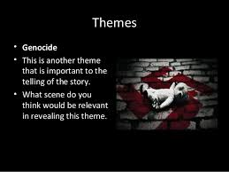 boy in the striped pyjamas synopsis and themes themes • genocide