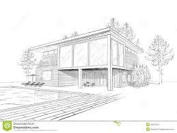 Tonnant Maison Moderne Dessin D Coration Barri Res Escalier A