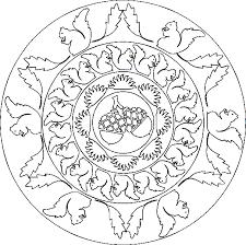 Kids N Fun Kleurplaat Mandala Dieren Mandala Eekhoorns