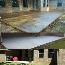 Acid Stained Patio Overlay