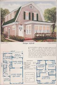 gambrel roof house plans. 1925 C. L Bowes - 14134B Gambrel Roof House Plans C