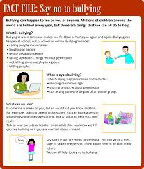 Say no to bullying | LearnEnglish Kids | British Council