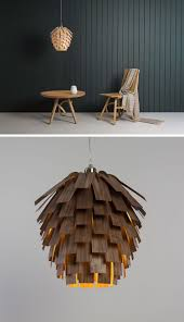 lamps and lighting home decor 15 wood pendant lights that add a natural touch to your decor wood veneer str