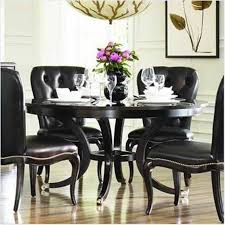 great fabulous black dining table set dining room tables awesome round wondrous makeover black dining room