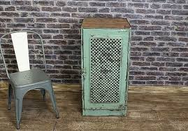 industrial metal cabinet with original