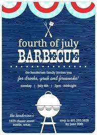 4th Of July Invite Fourth Potluck Invitation Jwintz