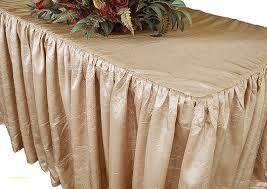 ... Pinchwheel Taffeta Tablecloth Luxury Champagne Ruffled Fitted  Tablecloths Skirt Banquet Rectangular ...