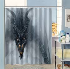 great free creative dragon shower curtain bathroom waterproof home decoration more size sq0622 hxl07 in