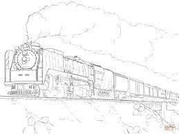 Free Download Steam Train Coloring Pages 14 For Your Free Coloring