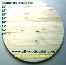 unfinished round table wood tops top 48 inch