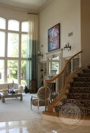 Two Story Living Room Curtains Trendy Ombre Curtains In Cold Warm And Neutral Hues