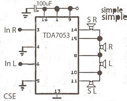 bose amplifier wiring diagram 2006 bose automotive wiring diagrams surround audio amplifier circuit diagram