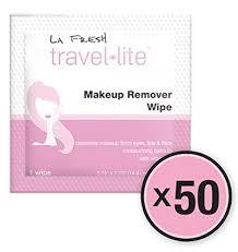 f1076 la fresh travel lite makeup remover wipes 8 x 6 ea