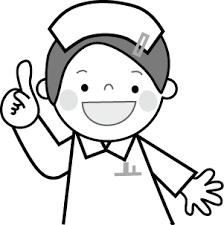 看護師のイラスト看護婦ナース無料イラストフリー素材