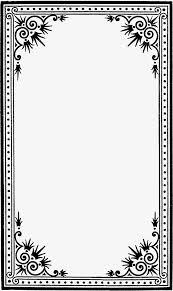Border Black And White Black And White Border Frame Album Border Black And White Photo