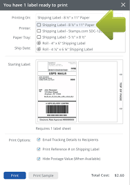 how to print a shipping label how to print ecommerce shipping labels