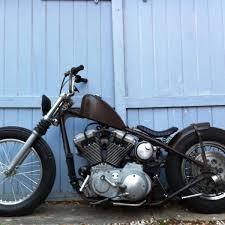 biltwell slimline seat black tuck n roll heavy gauge stamped