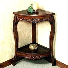 Corner table with shelves Floating Shelves Corner Accent Table Corner Accent Table Alluring Small Decor Ideas Home Tables Shelves Side Design Tall Hdcountnameuhuinfo Corner Accent Table Samix