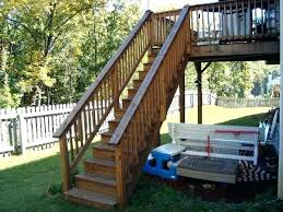 prefab outdoor steps prefab exterior stairs free standing design deck outdoor steps building wooden source image
