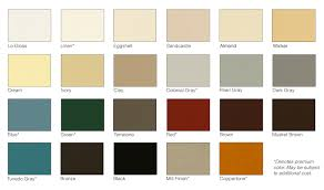 Gutter Colors Available