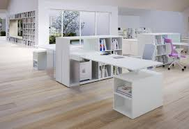 stylish home office furniture. Spacious Room With White Contemporary Office Desk Also Charming Chair Stylish Home Furniture A