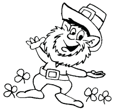 Leprechaun Coloring Pages Free Leprechaun Coloring Pages This