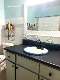 i chalk painted my bathroom actually love paint laminate can you formica countertops refinishing