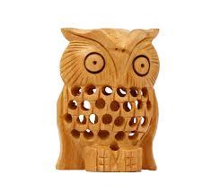 owl office decor. Wholesale Owl Figurine \u0026 Statue - Buy In Bulk Handmade 3\u201d Wood Filigree Sculpture With Baby Office Decor