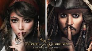 pirates of the caribbean jack sparrow inspired makeup