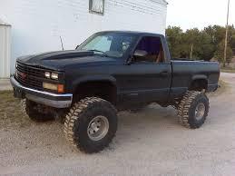 blue Cheverolet Silverado lifted truck | Chevrolet Lifted Trucks ...