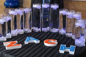 bar mitzvah candle lighting display candles candy