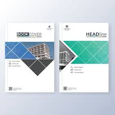 book cover template free vector