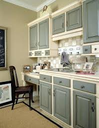 green painted kitchen cabinets. Different Color Kitchen Cabinet Two Tone Cabinets Stylish Design On Small Green Painted M