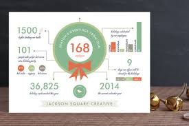 creative holiday cards. Delighful Cards Holiday Infographics Business Cards In Creative C