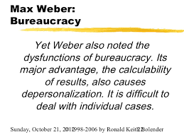 max weber max weber bureaucracy