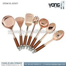 gold kitchen utensils. hot selling 2017 amazon 7pcs stainless steel rose gold kitchen utensils c