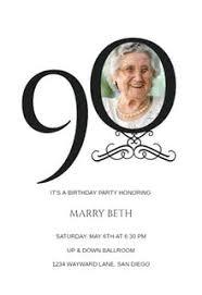 90th Birthday Invitation Templates Free Greetings Island