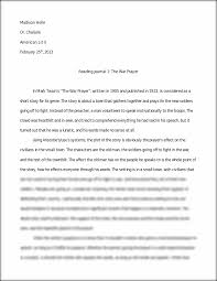 essay and analysis on the war prayer madison holle dr chalaire  essay and analysis on the war prayer madison holle dr
