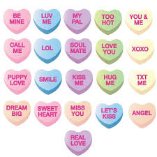 valentine s day candy hearts. Modren Candy Candy Heart Valentineu0027s Day Pathway Markers  Set Of 21 Includes 42 Short  Stakes Throughout Valentine S Hearts A