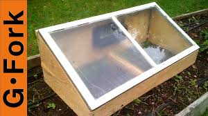 diy cold frame from a recycled window gf