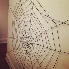 What you need to weave your web: Yarn. Scissors. Scotch Tape. Spiders?