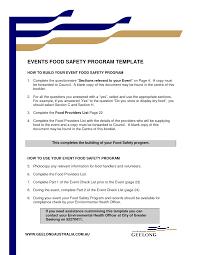 Program Of Events Sample Event Program Template Cyberuse