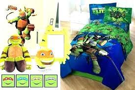 Queen Size Ninja Turtle Bedding Turtles Bed Set Bedroom Teenage ...
