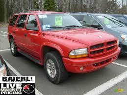 2001 Dodge Durango SLT 4x4 in Flame Red - 624155 | Jax Sports Cars ...
