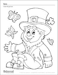 St Patricks Day Coloring St Patricks Day Free Printables Universal Publishing Blog